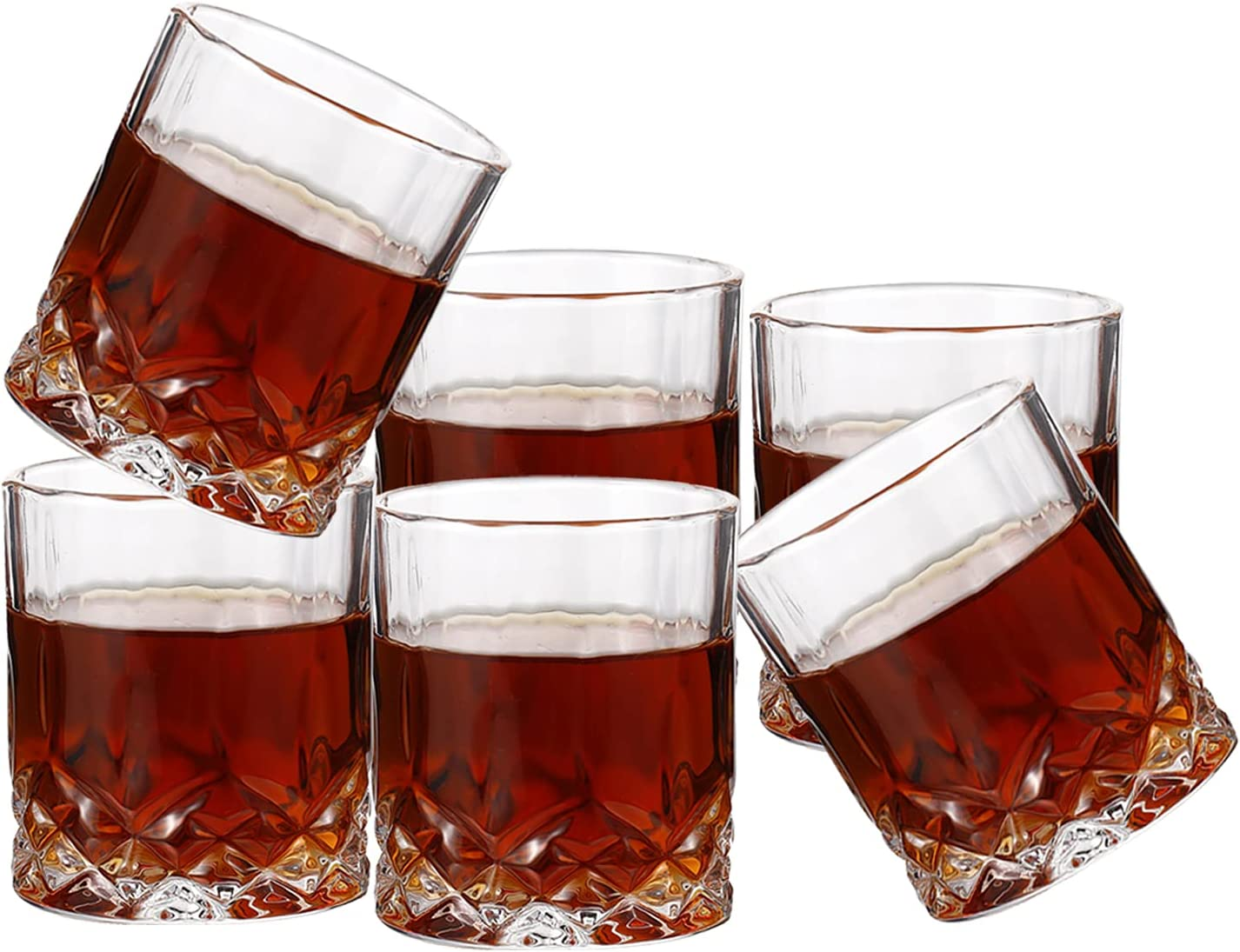 YJGS 6PC Whiskey Glasses Decanter Milwaukee Clearance SALE! Limited time! Mall for Ital Sets
