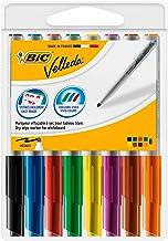 BIC Velleda 1741 - Caja de 8 unidades, marcadores de pizarra punta media, colores surtidos