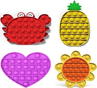 Sponsored Ad - Push pop Bubble Sensory Fidget Toy, Autism Special Needs Stress Reliever ,Squeeze Sensory Toy.Suitable for ...