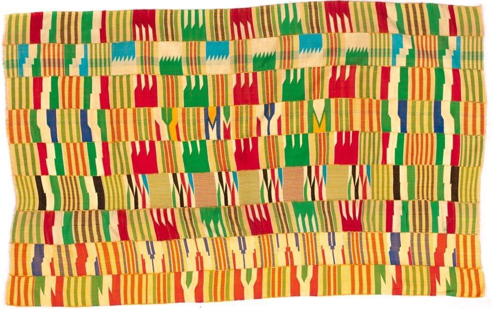 Fair Trade Indefinitely African Ghana Kente 76