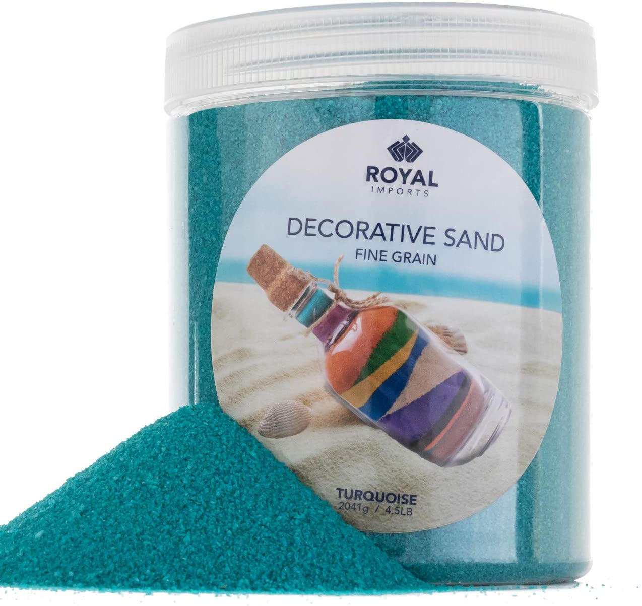 Max 64% OFF Royal Imports 4.5 Chicago Mall LBS Colored Decorative Fil Sand Beach for Vase