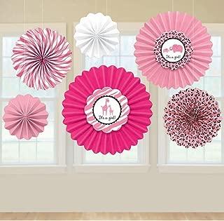 Sweet Safari Girl-Paper Fan Decoration