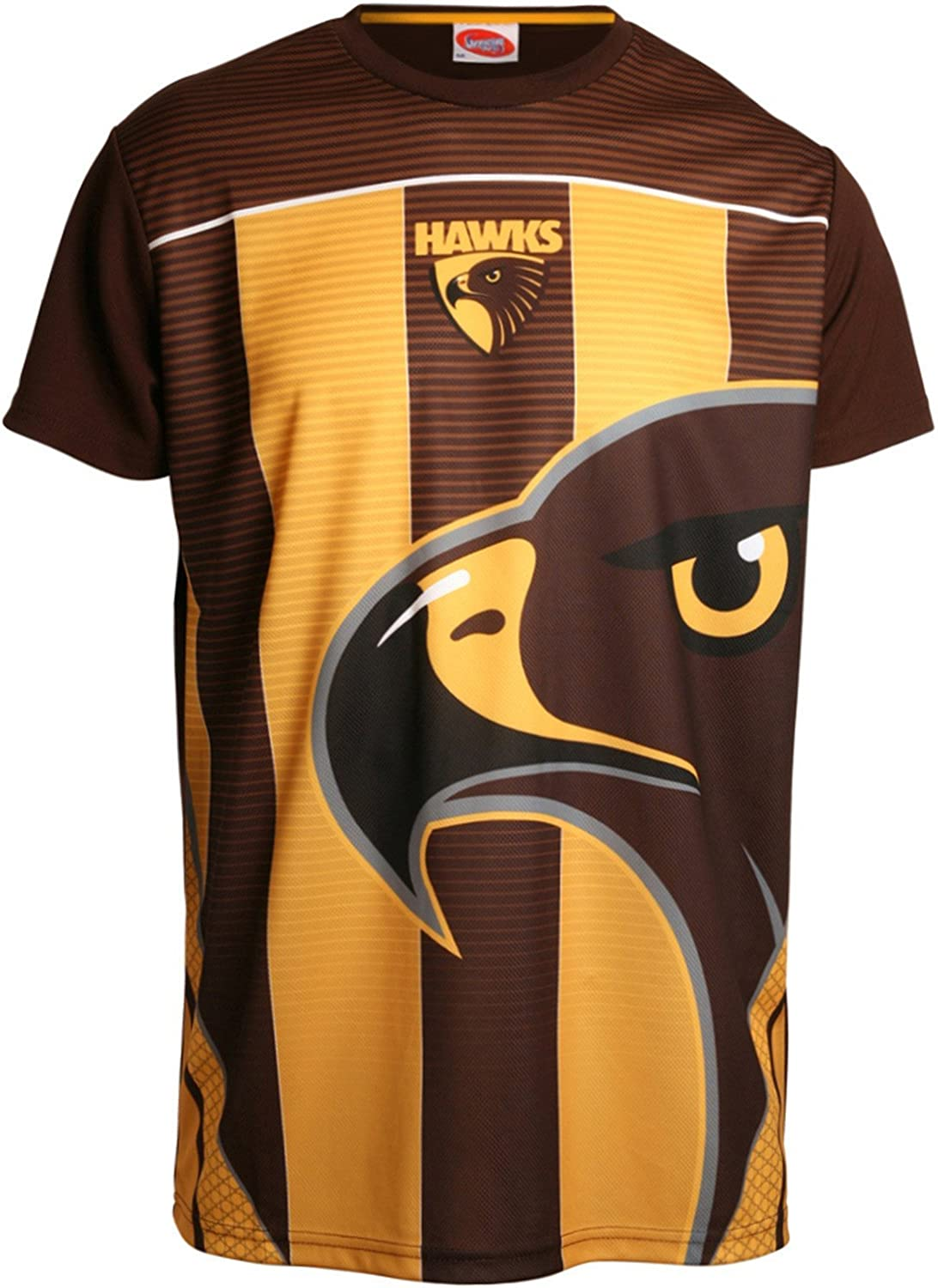 Hawthorn Hawks AFL Footy Mens Premium Training Tee
