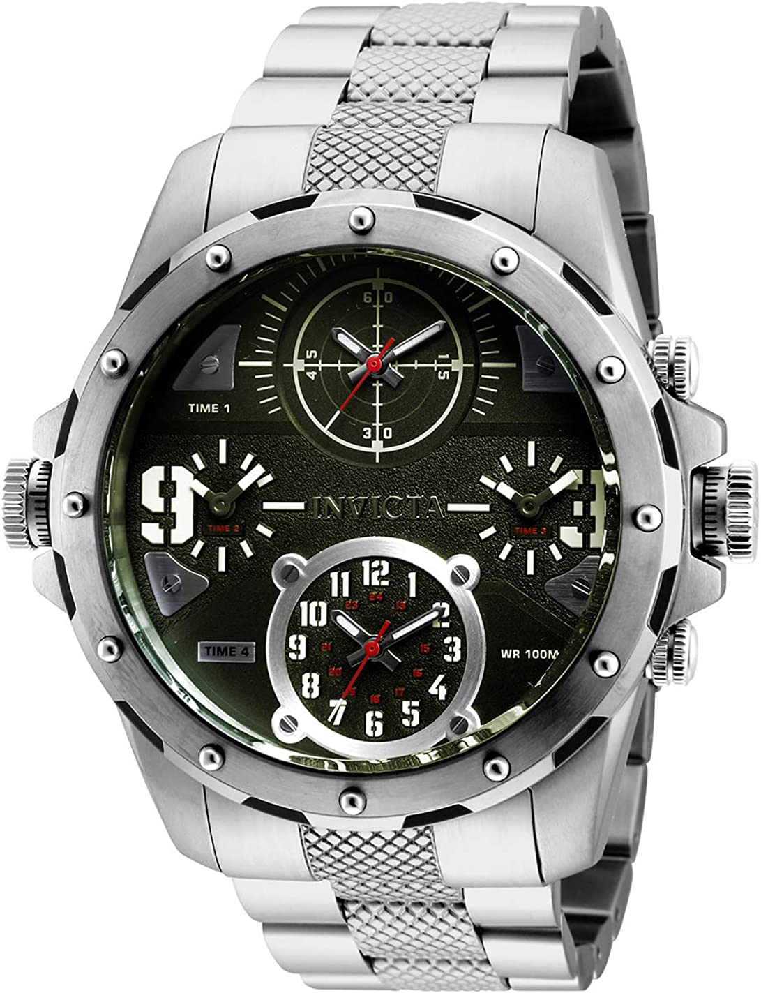 Invicta Men's Coalition Forces Ranking TOP8 Quartz Minneapolis Mall Watch Steel with Stainless