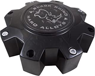 Black Rhino M-916 BK01 Wheel Center Cap Flat Black (1 CAP)