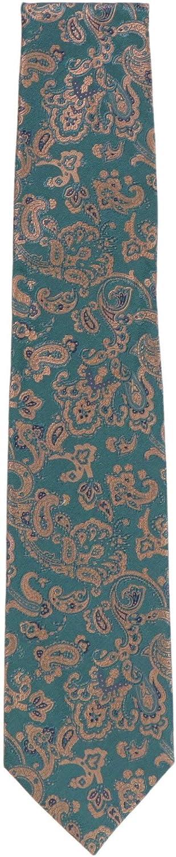 Stefano Ricci Men's Green Cravatta Tfa Luxury Necktie - One Size