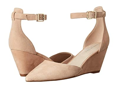 Kenneth Cole New York Ellis Ankle Strap (Buff Suede) Women