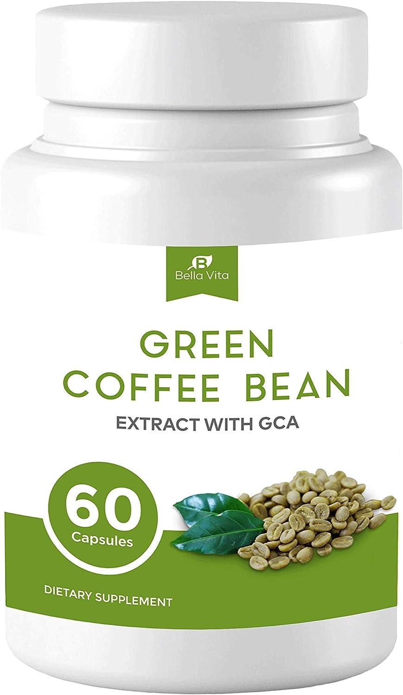 San Francisco Mall Daily bargain sale Bella Vita Green Coffee Bean Extract GCA Nat Capsules with All -
