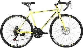 دراجة لياقة من فيتنس مينتس-2، لون اصفر