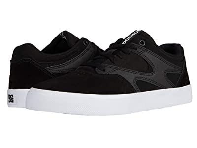 DC Kalis Vulc (Black/White) Skate Shoes