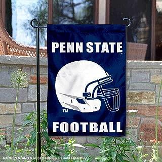 Penn State Football Helmet Garden Flag and Yard Banner
