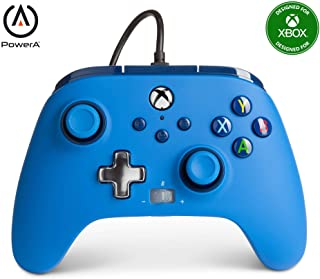 PowerA Enhanced Wired Controller for Xbox Series X and S, Blue - 13100 Xbox Series X Accessories