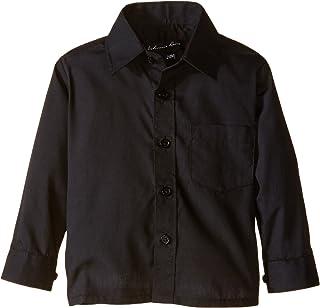Johnnie Lene Boy's Long Sleeves Solid Dress Shirt #JL32