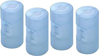 スマイルキッズ 日本製 電池アダプター 単3が単2になる電池アダプター ブルー 2個組み 2セット ADC-320BL-2P