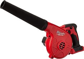 Milwaukee 0884-20 M18 18 V Litio Ion 100 CFM 160 MPH Inalámbrico Compacto Multipropósito Utility Blower