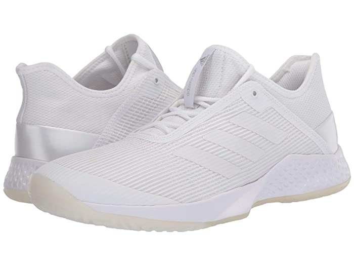 adidas  Adizero Club (Footwear White/Footwear White/Footwear White) Womens Tennis Shoes
