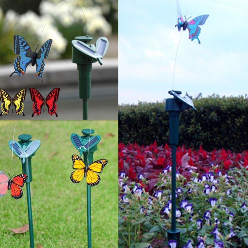 Vibrazione Energia Solare Che Balla Farfalle Svolazzanti Volanti Decorazioni da Giardino jiashemeng Simulazione di Energia Solare Colibr/ì di Girasole