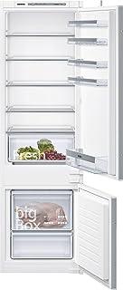 Siemens 274 Liters Freezer on Bottom Built In Refrigerator, White - KI87VVS30M, 3 Years Warranty
