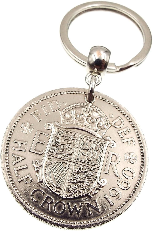 A argento Dream 1960 Half Crown Coin  avering