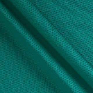 Textile Creations 0319340 Athletic Mesh Knit Teal Fabric by the Yard