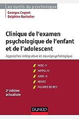 Clinique de l'Examen Psychologique de Enfant et Adolescent 2e Éd. Capa comum