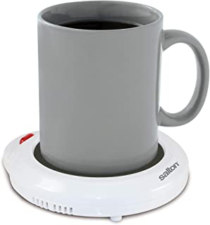 Salton Coffee Mug & Tea Cup Warmer for Office Desk Use, Electric Beverage Warmer with Automatic Temperature Control, Perfe...