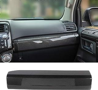JeCar Co-Pilot Passenger Decoration Trim ABS Interior Accessories for Toyota 4runner SUV 2010-2019, Carbon Fiber Texture