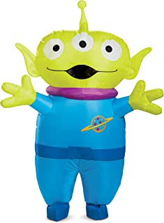 Disguise Unisex Alien Inflatable Adult Costume