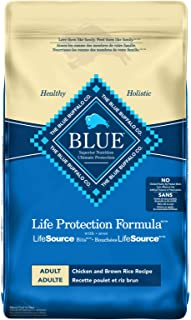 Blue Buffalo Life Protection Formula Adult Dog Food - Natural Dry Dog Food For Adult Dogs - Chicken And Brown Rice - 11.7 ...