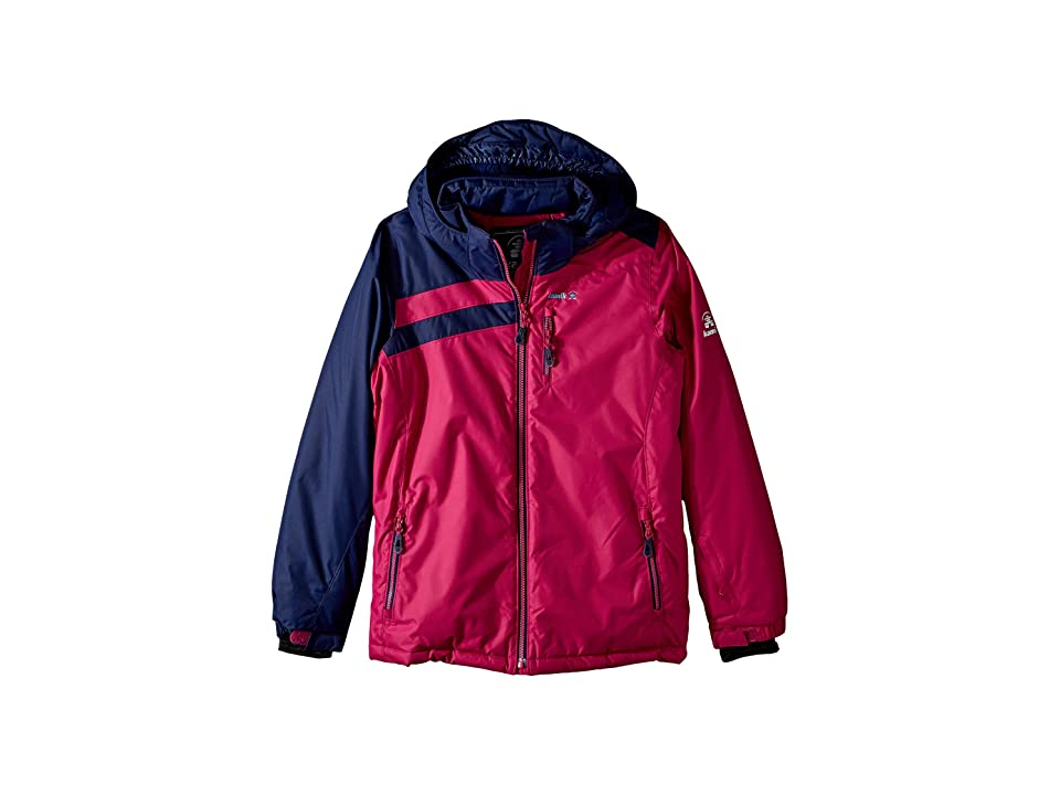 Kamik Kids Nova Jacket (Little Kids/Big Kids) (Pink/Navy) Girl