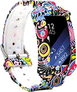 Veczom Compatible Samsung Gear Fit2 Pro Band/Gear Fit 2 Bands, Replacement Silicone Smartwatch Wristbands Breathable Anti-ShockingStraps Compatible Samsung Gear Fit2 Pro (Image)