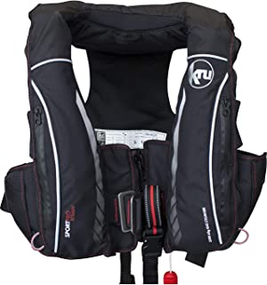 Ocean Safety Kru Sport Pro 275N ADV Automatic Lifejacket with Harness, Hood & Light Carbon