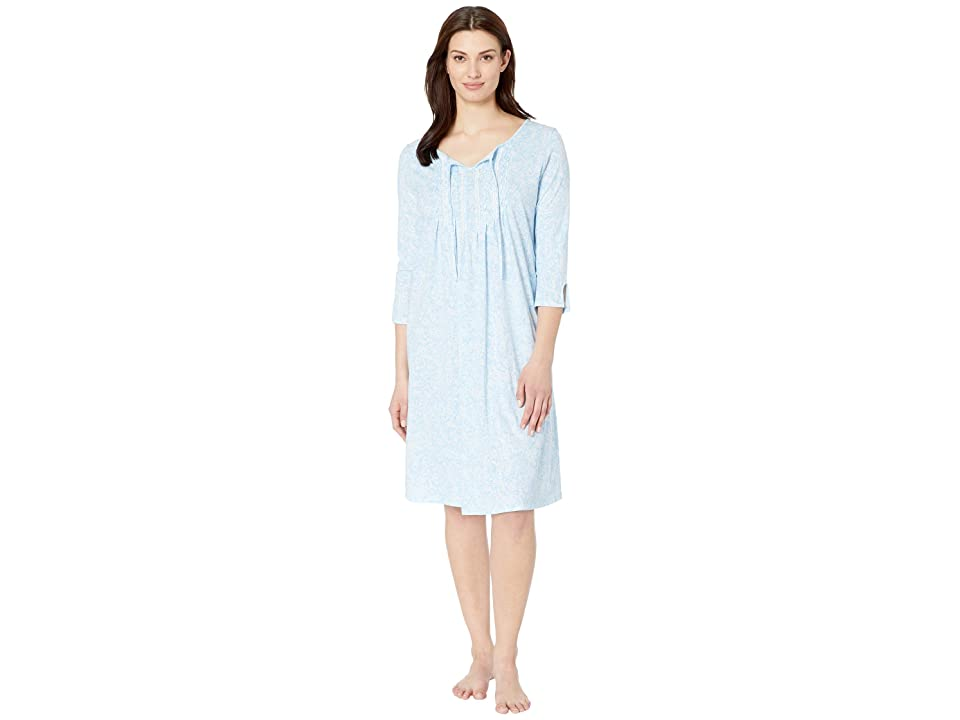 Carole Hochman Waltz Nightgown (Blue Paisley) Women