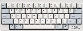 Fujitsu Happy Hacking Keyboard Professional2 (Compact, White, Printed Keycaps, 45G)