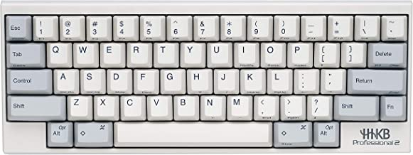 Happy Hacking Keyboard Professional2 (Compact, White, Printed Keycaps, 45G)