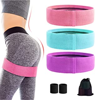 Rozeda Booty Bands, Resistance Bands for Legs and Butt, Workout Bands Exercise Bands with Non-Slip, Fabric Resistance Loop...