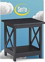 Serta Bismarck Side Table, Black