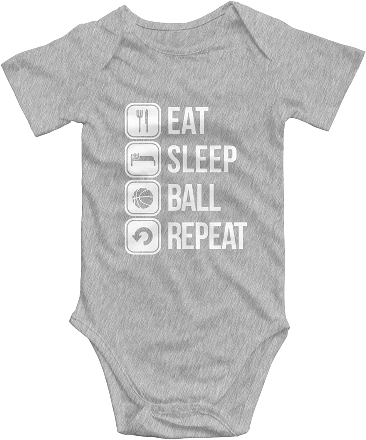 Eat Sleep Limited Special Price Basketball Repeat service Baby Girls Boys Cute Onesies Infant