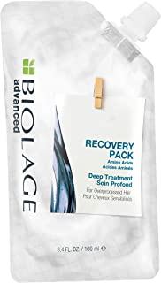 BIOLAGE Advanced Recovery Deep Treatment Pack Multi Use Hair Mask For Chemically Damaged & Over-Processed Hair Vegan 3.4 F...