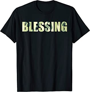 Funny Blessing in Disguise Camouflage Team Lazy Camo T-Shirt