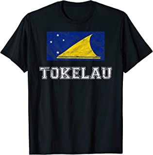 Tokelau Flag Vintage I Men Women Kids T-Shirt
