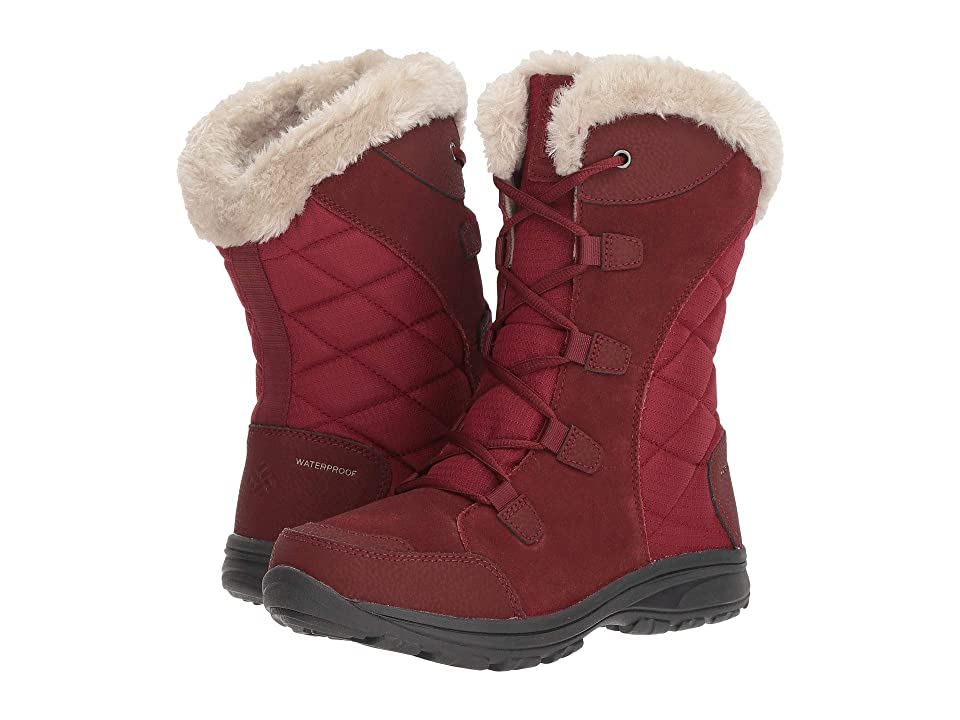 Columbia Ice Maidentm II (Marsala Red/Silver Sage) Women