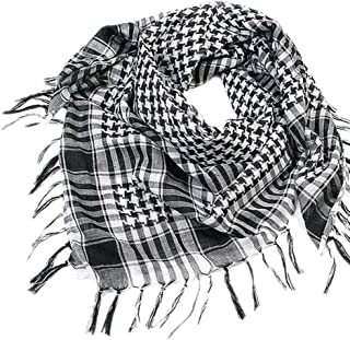 1PC Women Men Scarf Shawl Wrap Pattern of Arab Shemagh Keffiyeh Palestine