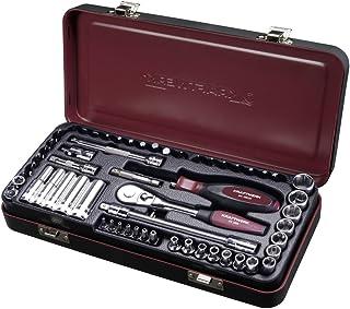 """Coffret de douilles cliquet et accessoires 36 outils 1//4/"""" KRAFTWERK KRA3005"""