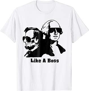 george washington for president shirt