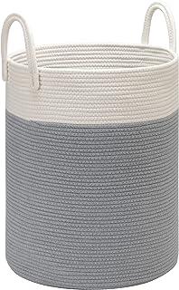 DOKEHOM X-Grand Organiser Paniers pour Vêtements Stockage -15.7 Inches(D) x 19.7 Inches(H)- Paniers à Linge, Pliable Sac à...