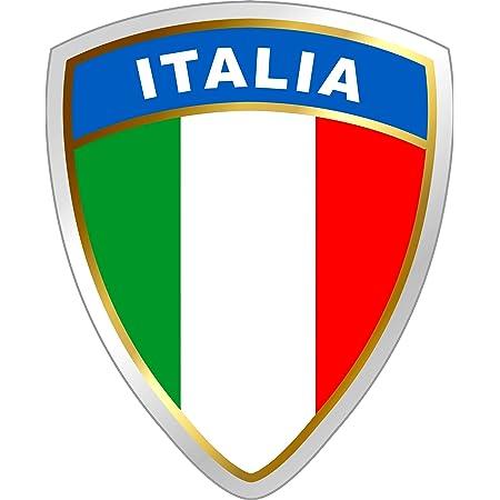 Carstyling Xxl Aufkleber Italien Wappen Dimension 45 X 35 Mm Fanartikel Schneller Versand Innerhalb 24 Stunden Auto