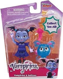 """Disney Vampirina Best Ghoul Friends Vampirina & Buttons Action Figures 3.5"""""""