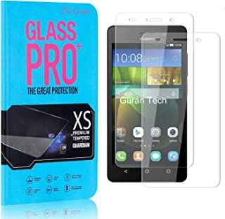 Screen Protector Compatible with Huawei Honor 4C, The Grafu Anti Fingerprint Tempered Glass Screen Protector, HD Screen Pr...