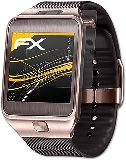 atFoliX Skärmskydd är kompatibel med Samsung Gear 2 Neo Skyddsfilm, antireflekterande och stötdämpande FX Film (3X)